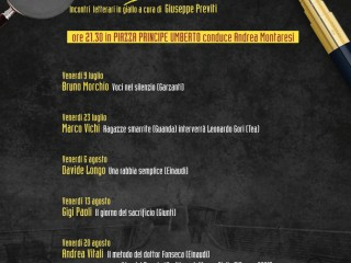 Giallo D'A(mare)- Incontri letterari in giallo a cura di Giuseppe Previti