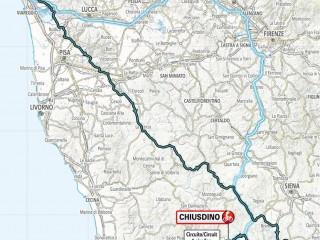 Tirreno - Adriatico | Tappa 2: Camaiore > Chiusdino